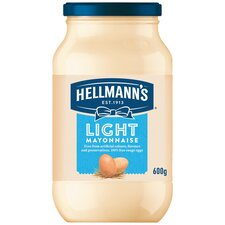 image 1 of Hellmann's Light Mayonnaise 600G Jar