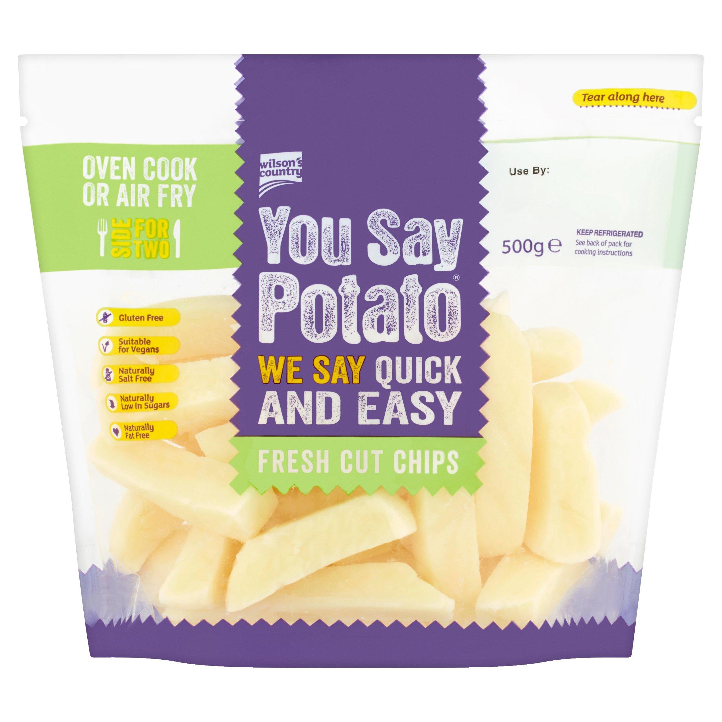 You Say Potato Fresh Cut Chips 500G