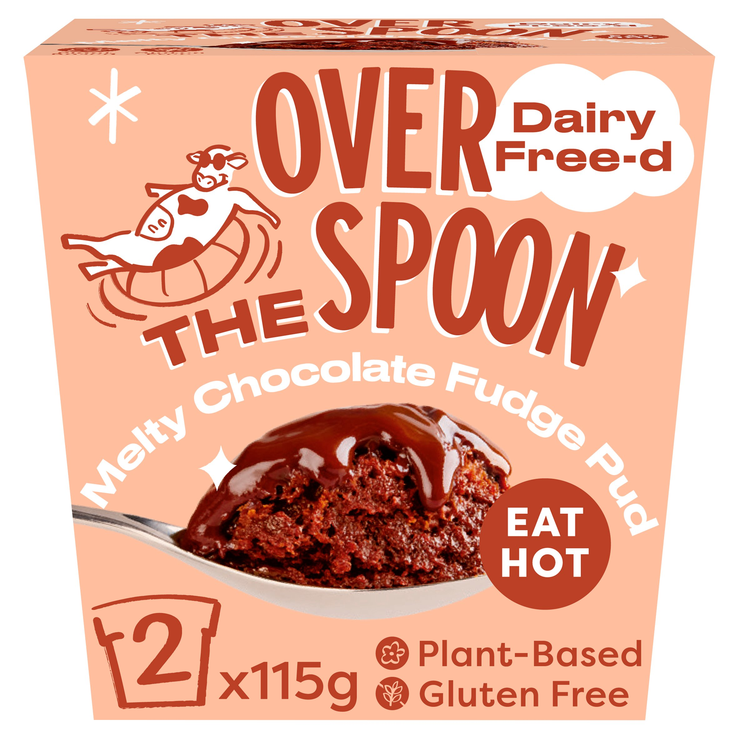 Over The Spoon Chocolate Fudge Pudding 2X115g