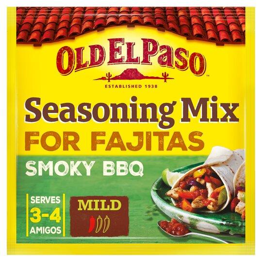 image 1 of Old El Paso Smoky Bbq Fajita Seasoning Mx 35G