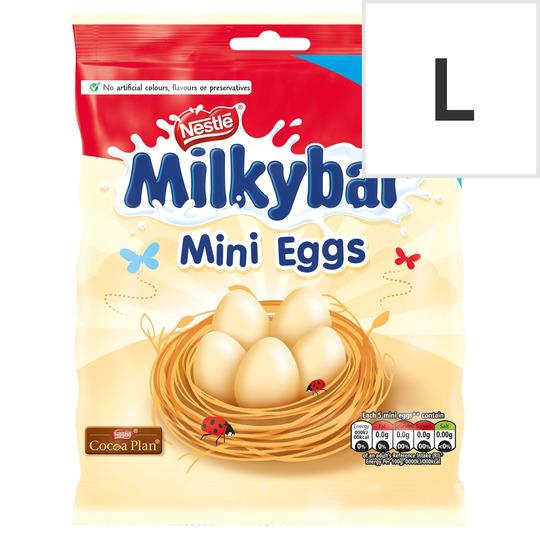 Milkybar White Chocolate Mini Eggs Pouch 270G