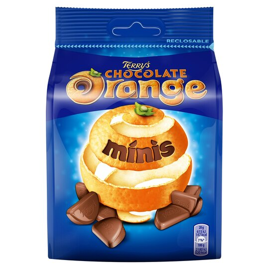 Terry's Chocolate Orange Mini's Bag 125G