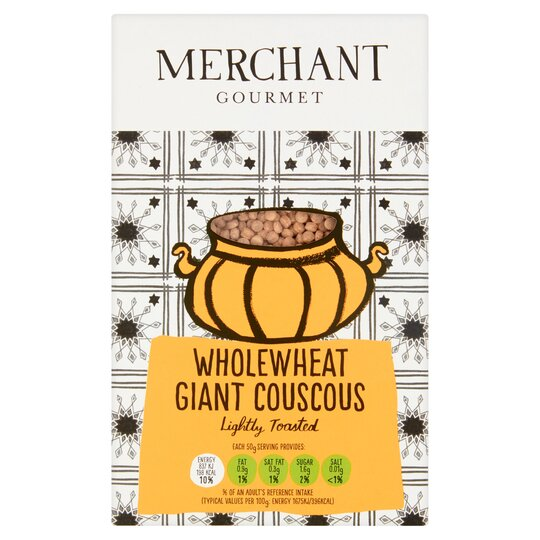Merchant Gourmet Whole Wheat Giant Couscous 300G