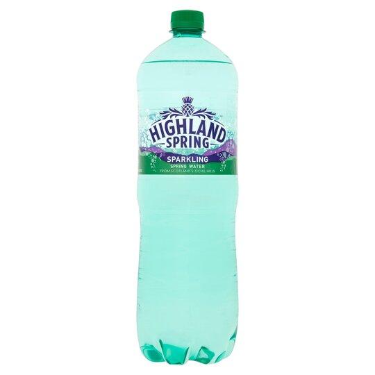 Highland Spring Sparkling Mineral Water 1.5Lt