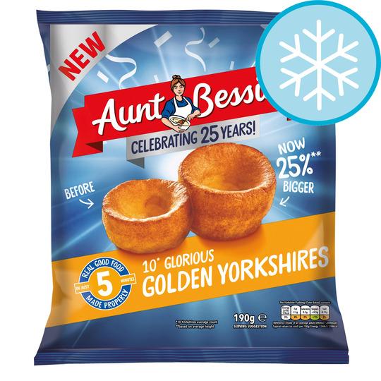 Aunt Bessie's 10 Glorious Golden Yorkshires 190G