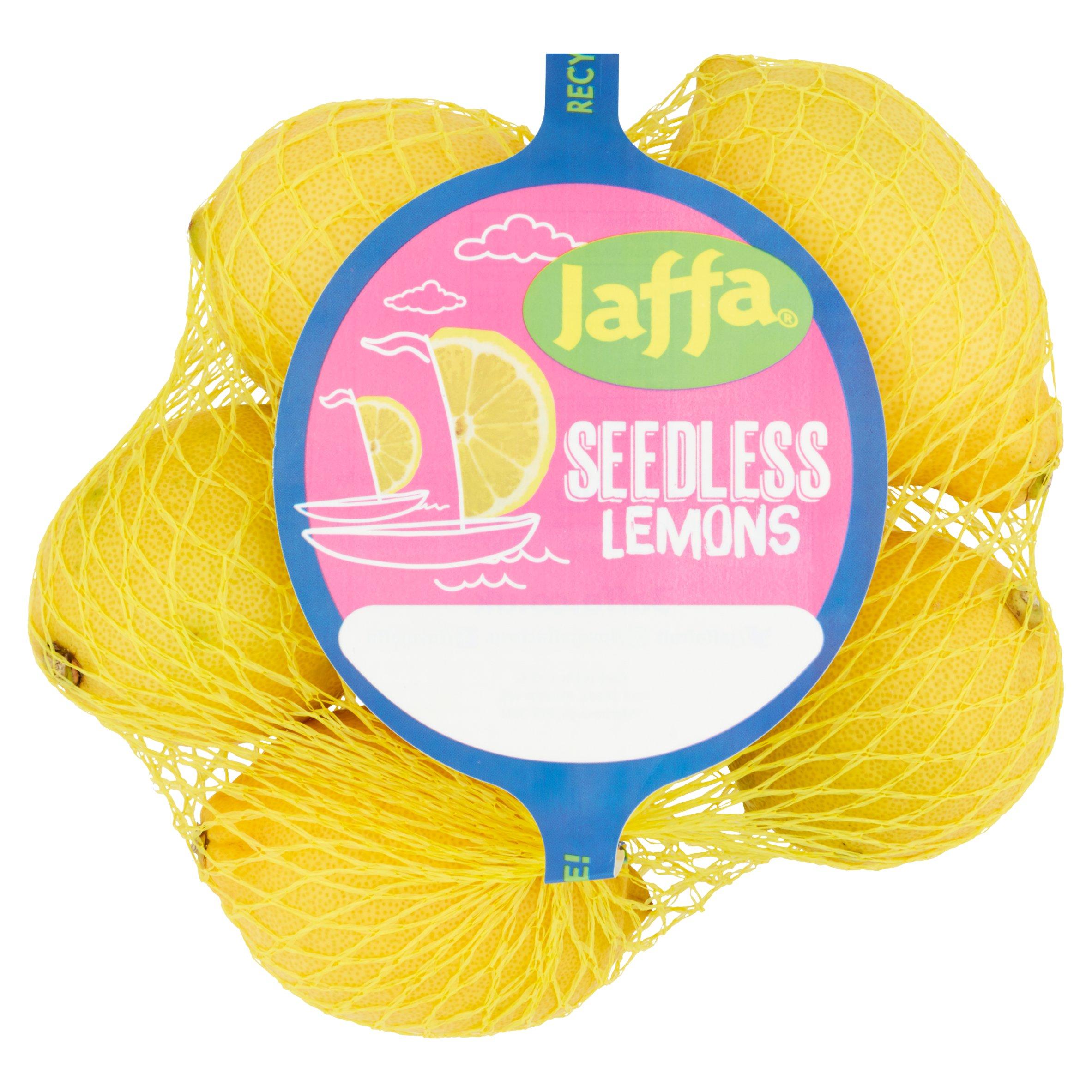 Jaffa Seedless Lemons Minimum 4Pack