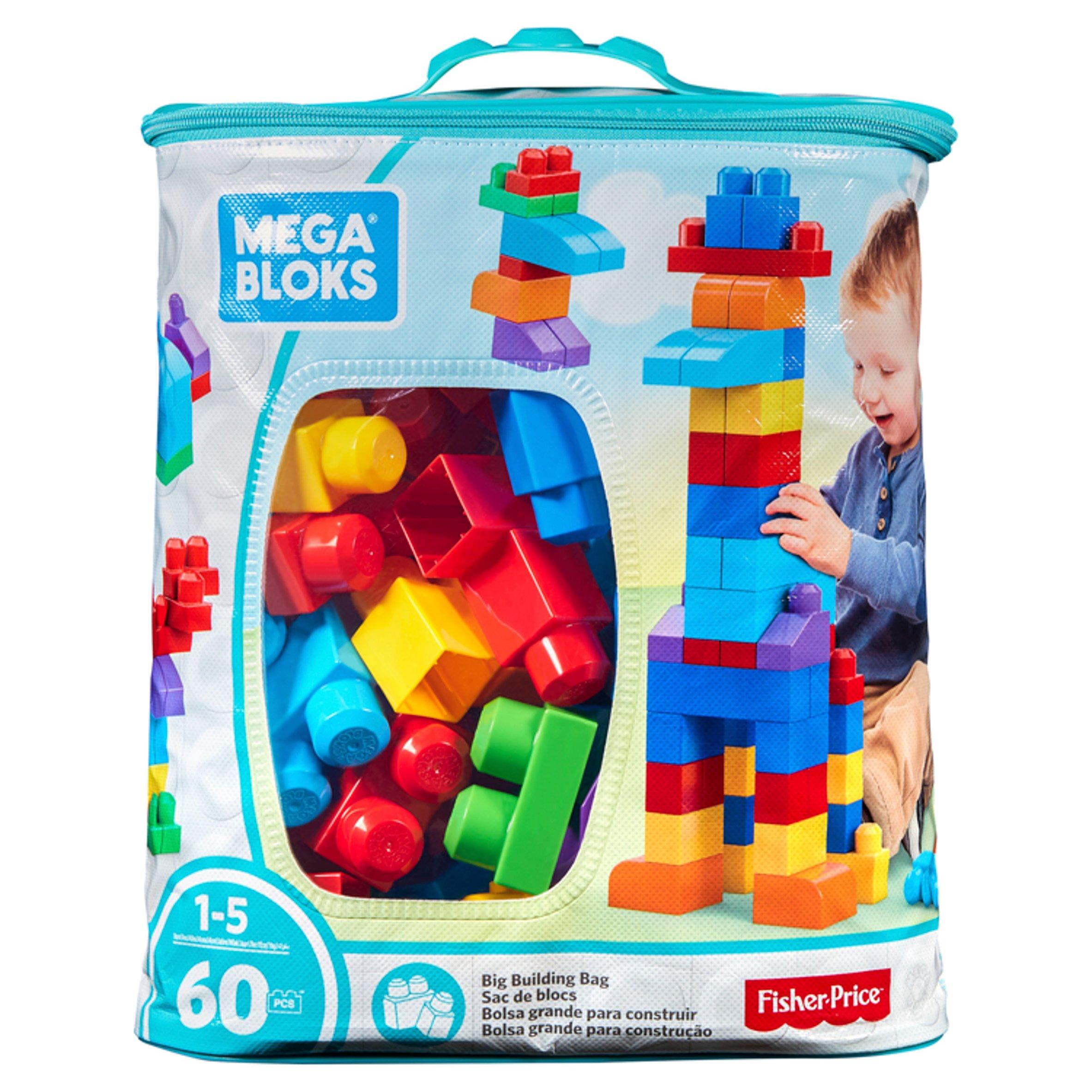 Mega Blocks Maxi Bag Classic 60Pcs
