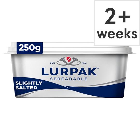 image 1 of Lurpak Slightly Salted Spreadable 250G