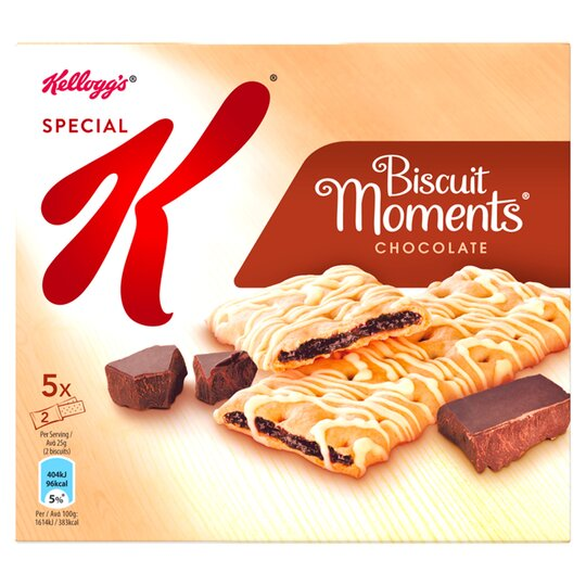 Kellogg's Special Biscuit Moments Chocolate 125G