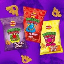 image 3 of Walkers Monster Munch Variety Snacks 12 X 22G