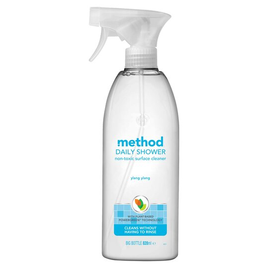 Method Spray Shower Cleaner Ylang 828ml Tesco Groceries