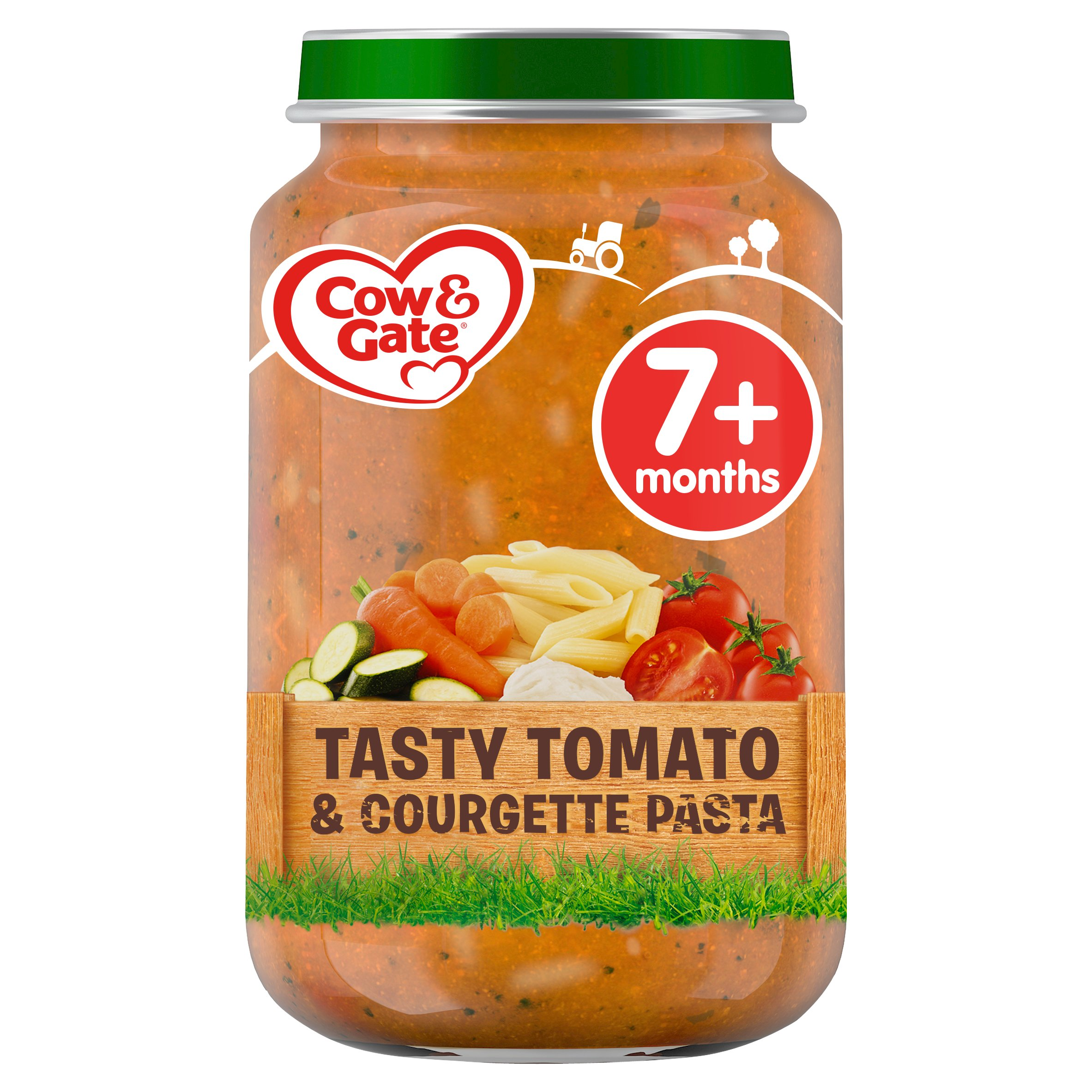Cow & Gate Cheesy Pasta Courgette Pasta 7Mth+ 200G Jar