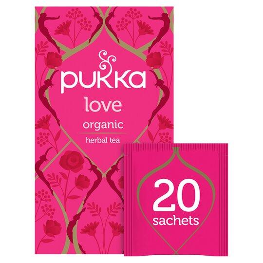 Pukka Love Organic Teabags 20S 24G