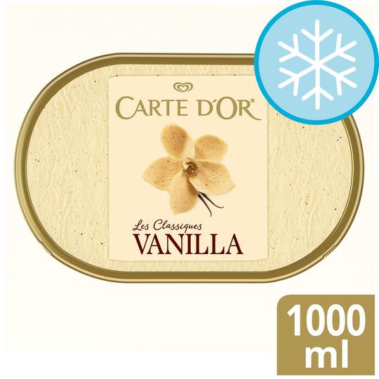 Carte Dor Vanilla Ice Cream Dessert 1l