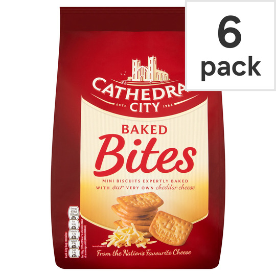 Cathedral City Baked Bites 6 Pack
