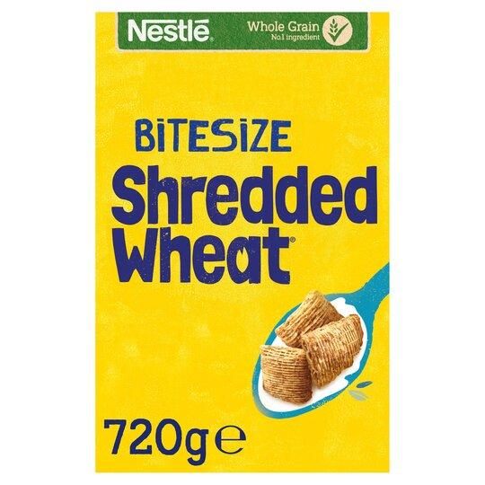 Nestle Shredded Wheat Bitesize Cereal 720G