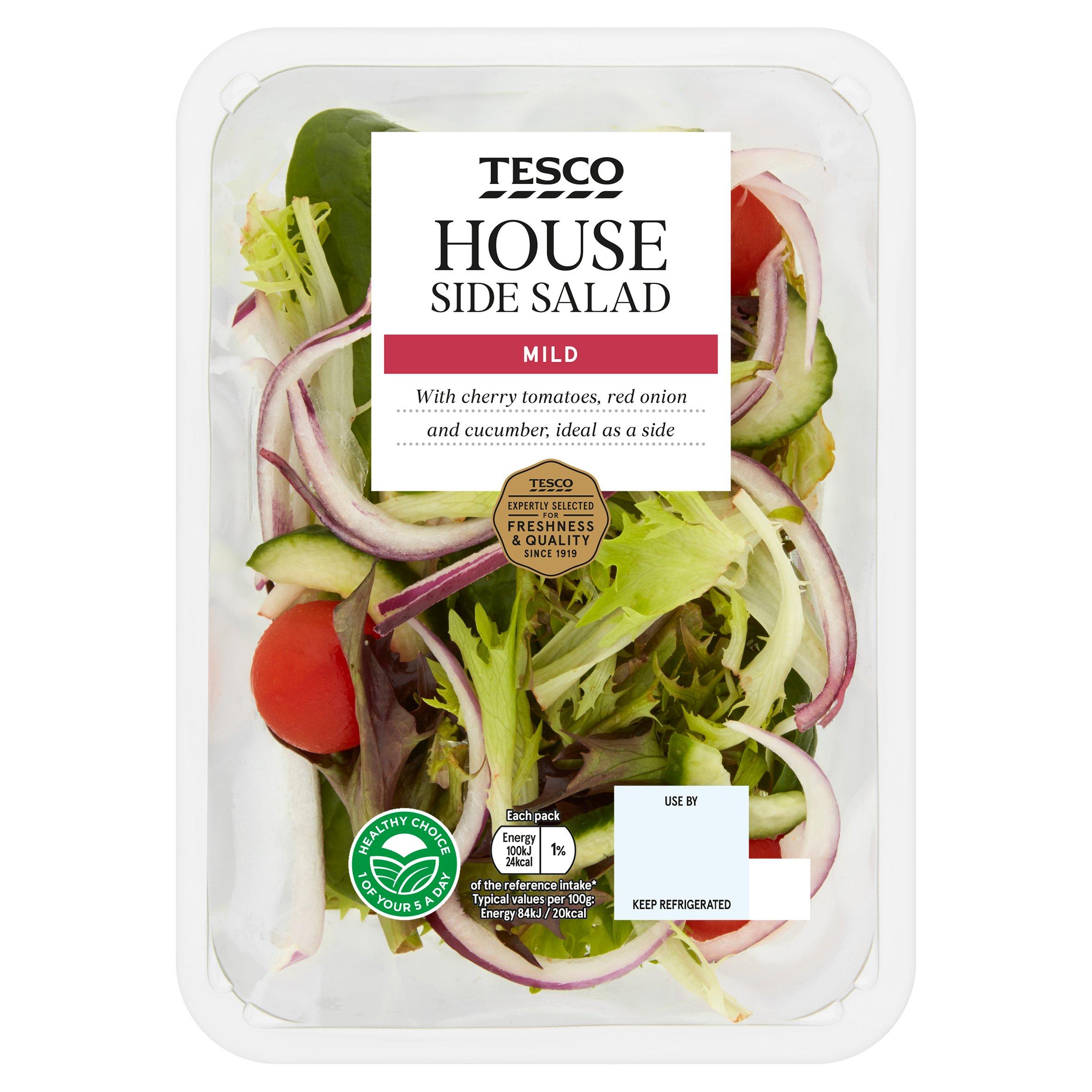 Tesco House Salad 120G