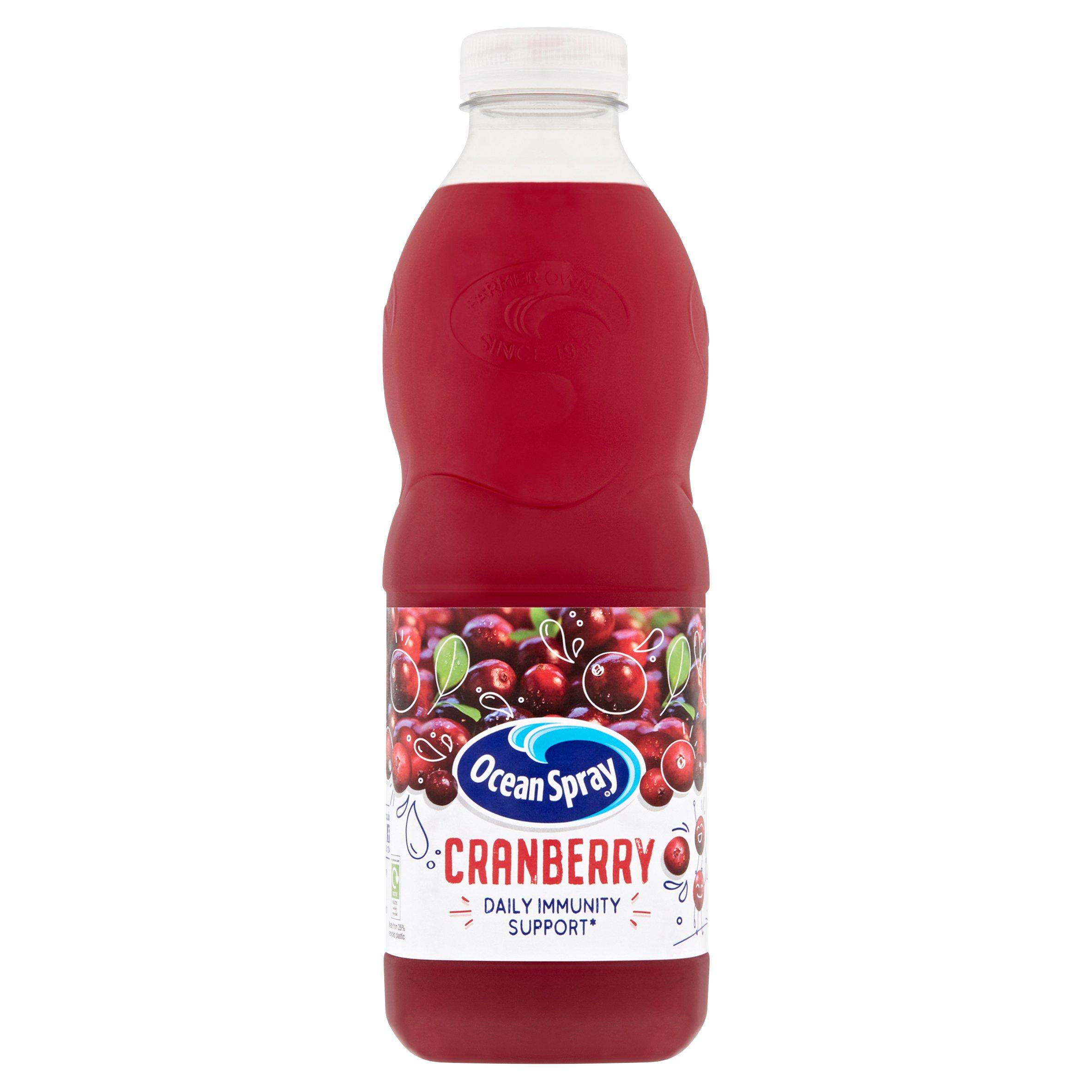 Ocean Spray Cranberry Juice 1 Litre