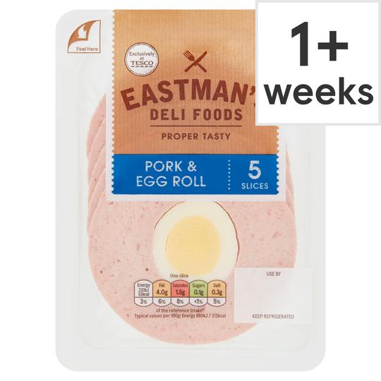 Eastman's Pork & Egg Roll 5 Slices 125G