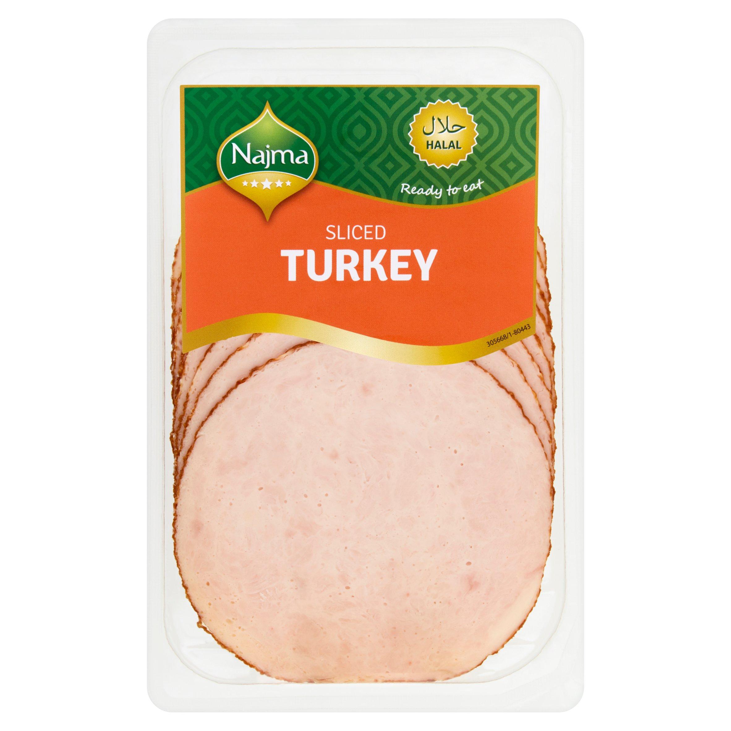 Najma Sliced Turkey Breast 150G