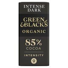 image 1 of Green & Blacks Organic Dark 85% Chocolate 90G