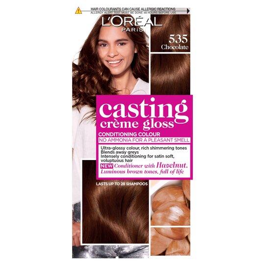 image 1 of L'oreal Casting Creme Gloss Chocolate Brown 535 Semi-Permanent Hair Dye