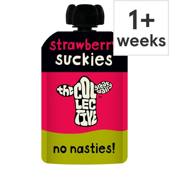 The Collective Suckies Strawberry Yogurt 100G