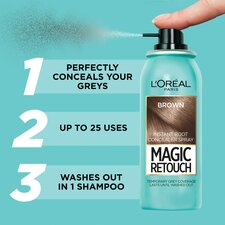 image 2 of L'oreal Magic Root Touch Up Brown 75Ml