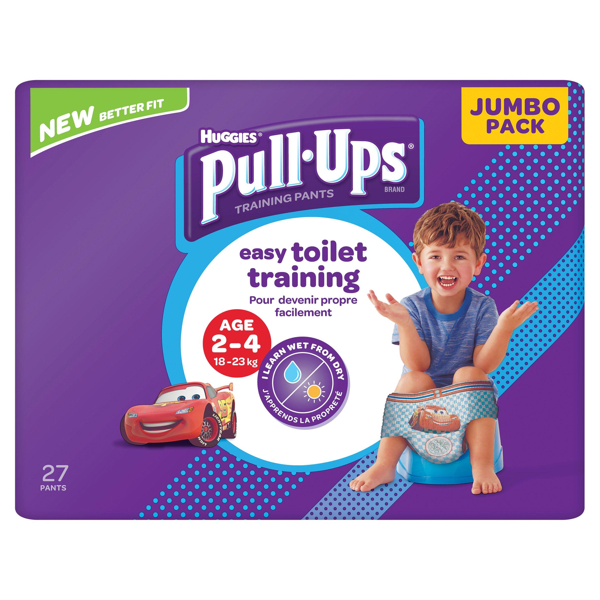 Huggies Pull Ups Night Time Boy 2-4 Years Potty Training Pants