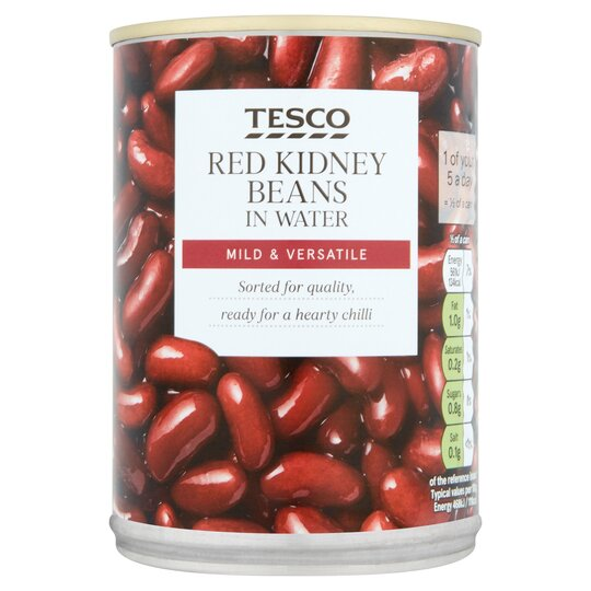 Tesco Red Kidney Beans 400g Tesco Groceries