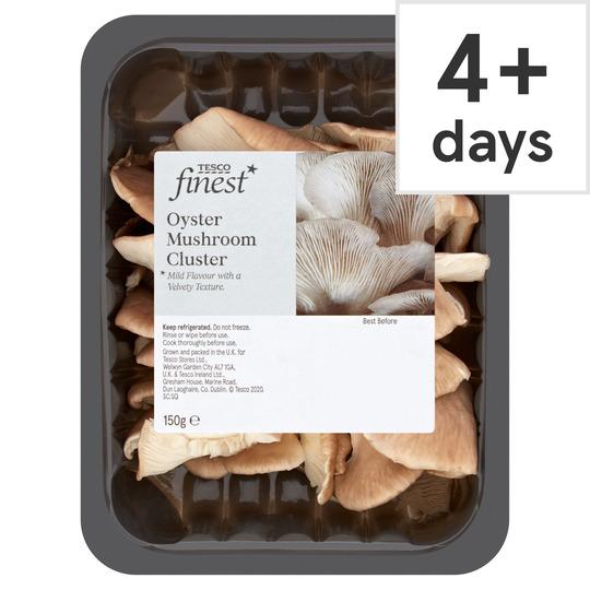 Tesco Finest Oyster Mushroom Cluster 150G