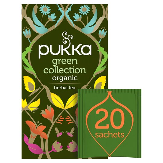 Pukka Organic Green Tea Collection 20 Tea Bags 30G