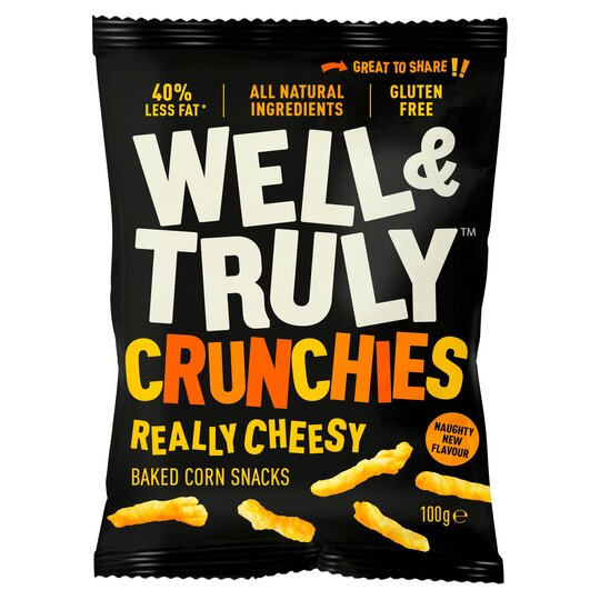 Well & Truly Crunchy Cheese Sticks 100G