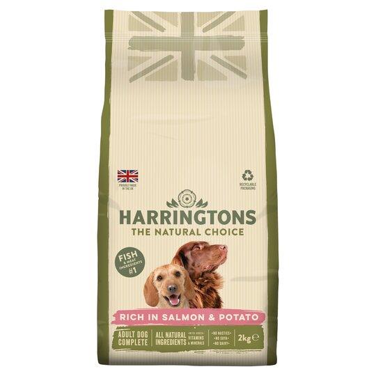 Harringtons Salmon Potato Dog Food 2kg