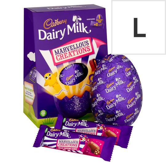 Cadbury Dairy Milk Marvellous Creations Chocolate Egg 271G