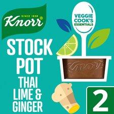 image 1 of Knorr Stock Pot Kaffir Lime & Ginger 2 X 26G