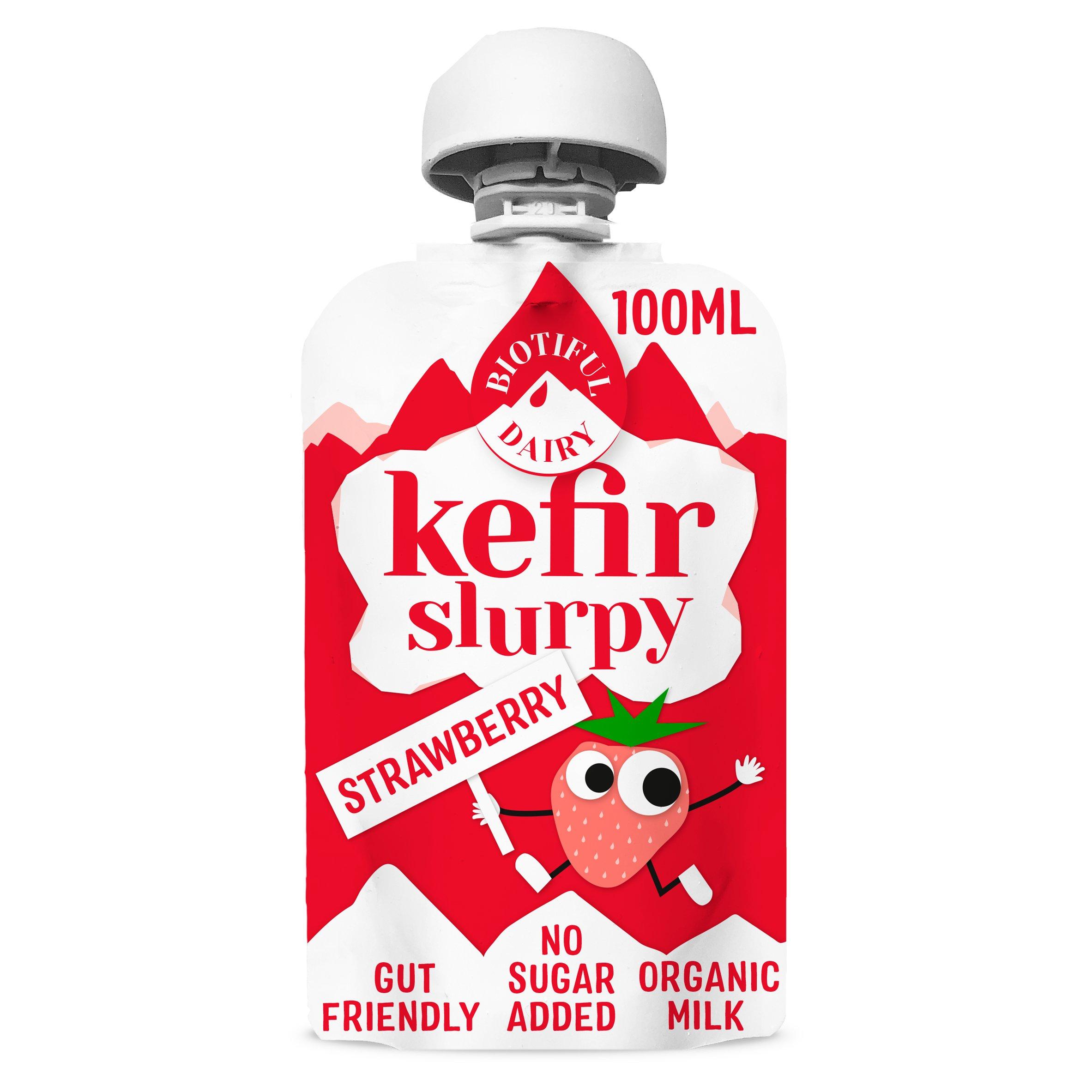 Biotiful Dairy Kefir Slurpy Strawberry 100Ml