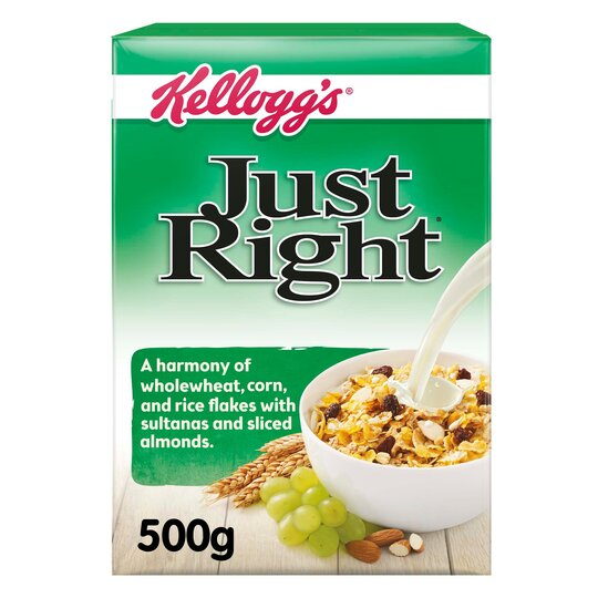 Kellogg's Just Right Cereal 500G