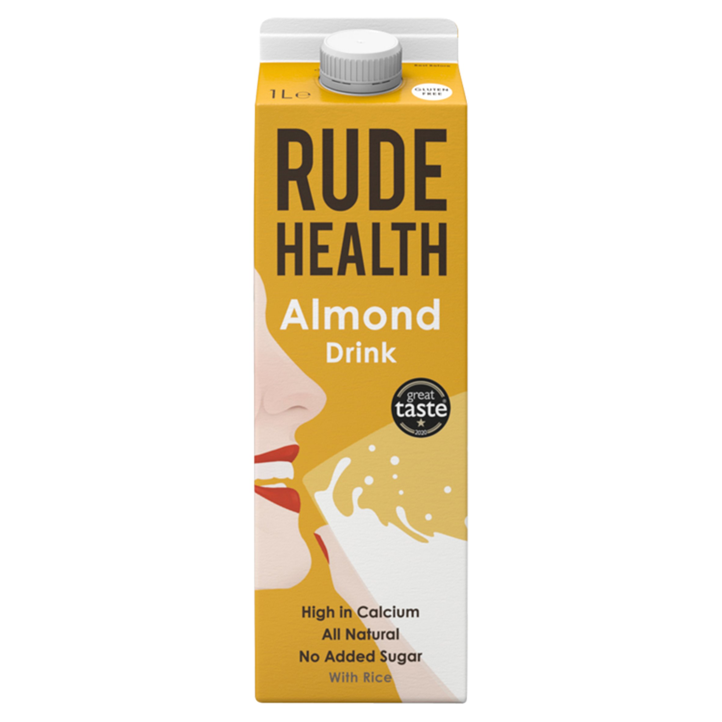 Rude Health Chilled Almond Drink 1 Litre