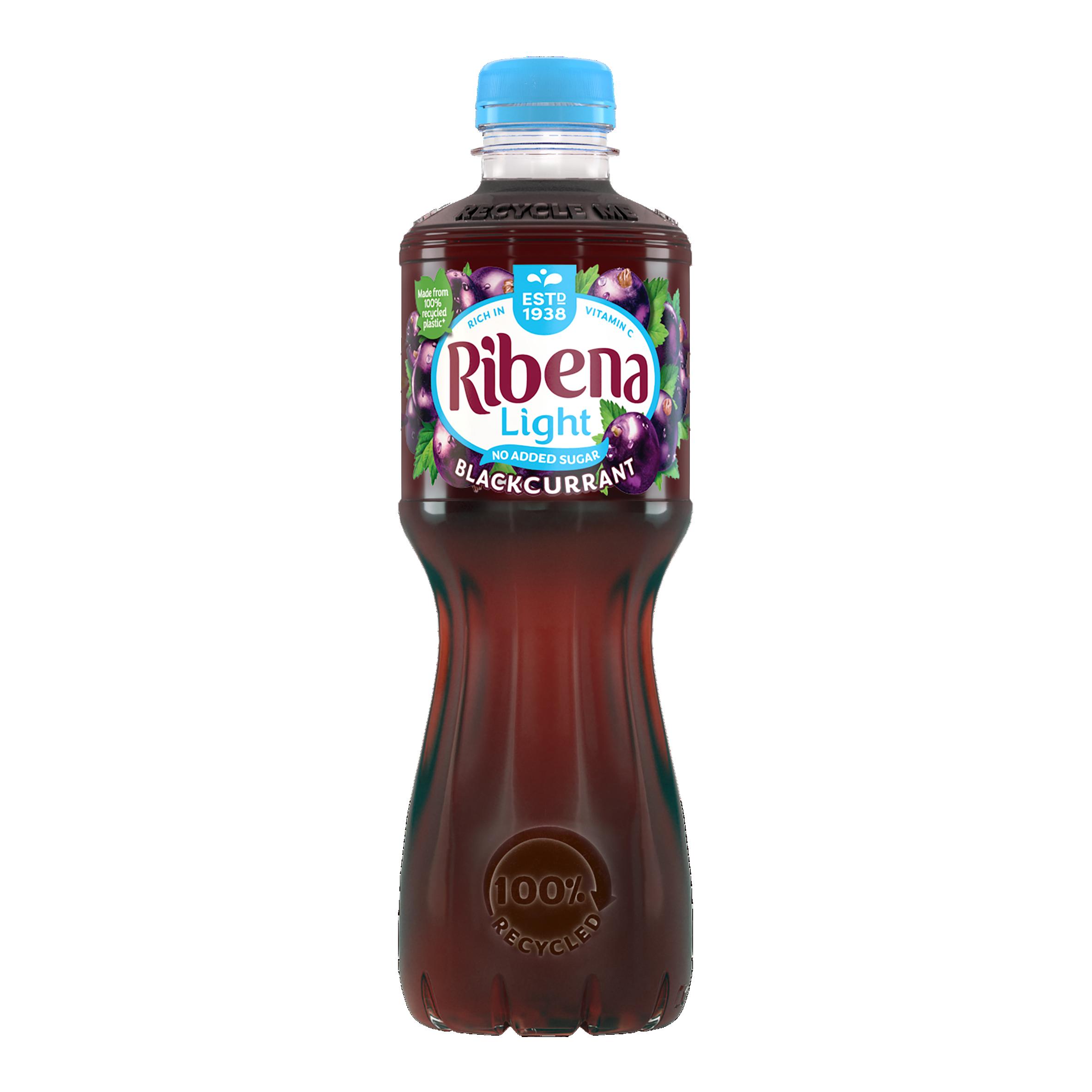 Ribena Blackcurrant Really Light 500Ml Bottle