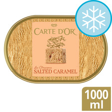 image 1 of Carte D'or Salted Caramel Ice Cream Dessert 1000Ml