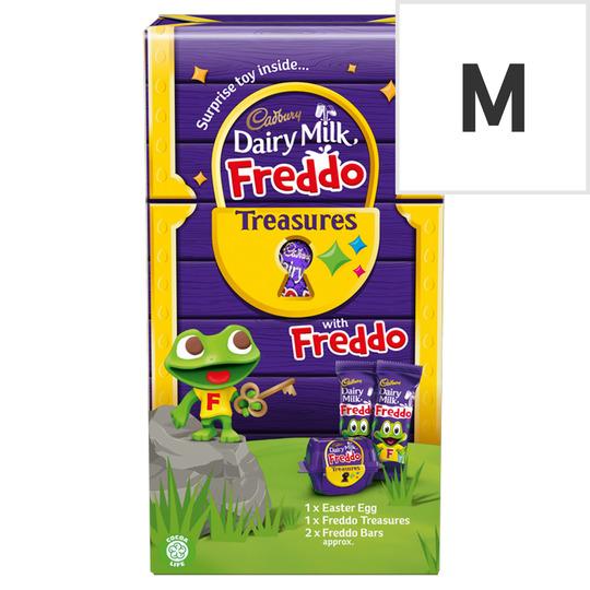 Cadbury Dairy Milk Chocolate Freddo Egg & Toy 150G