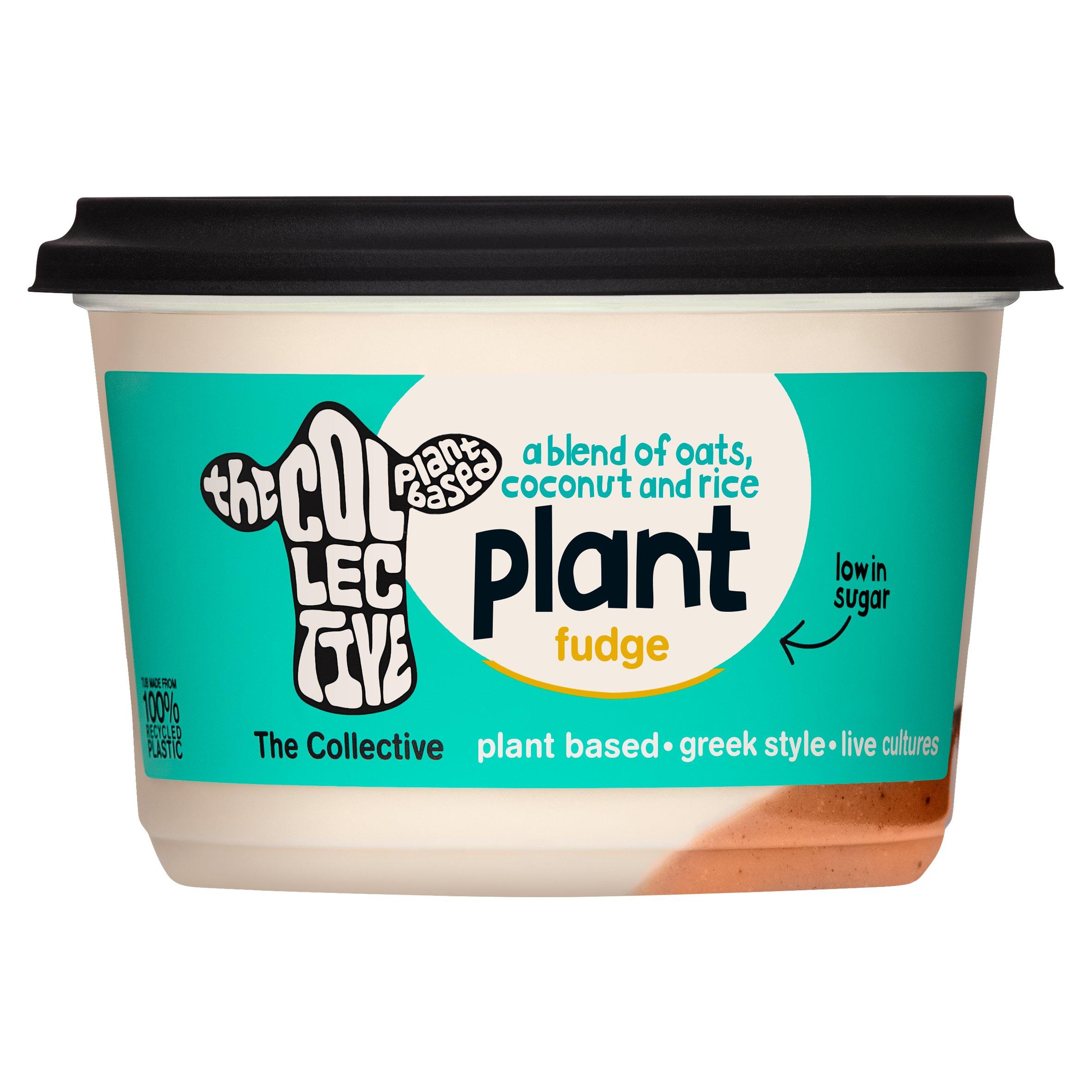 The Collective Plant Based Fudge Yogurt 400G
