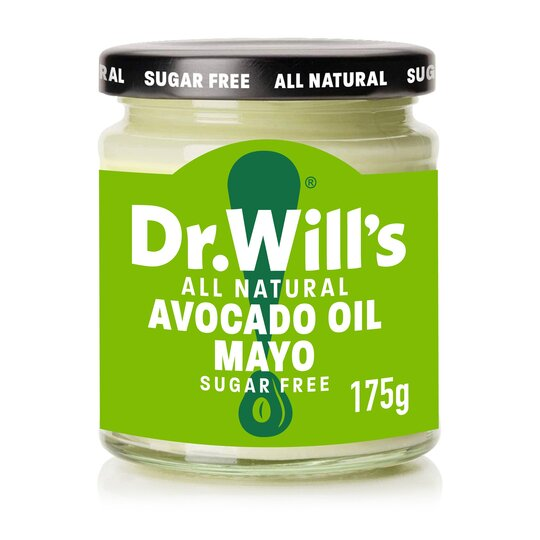 Dr Wills Avocado Oil Mayonnaise Sugar Free 175G