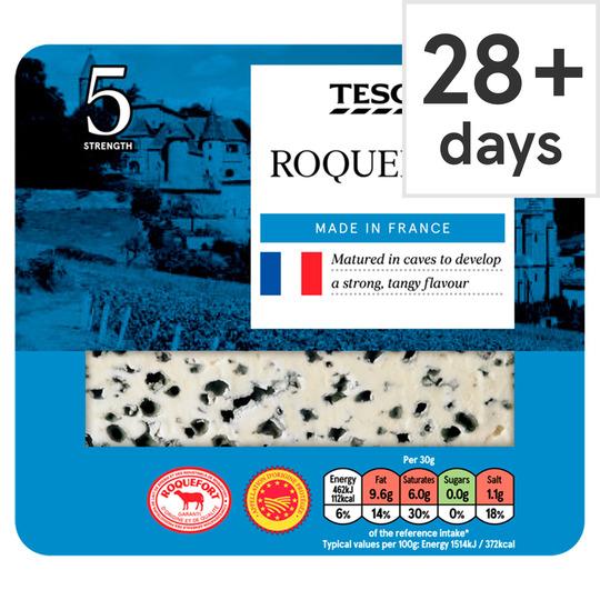 Tesco Roquefort 100G