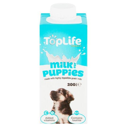 Top Life Formula Puppy Milk 200ml Tesco Groceries
