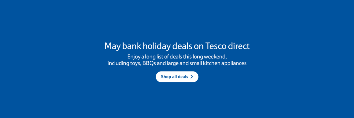 May Bank Holiday deal