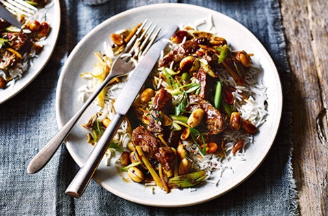This healthy stir-fry is ready in just 20 minutes