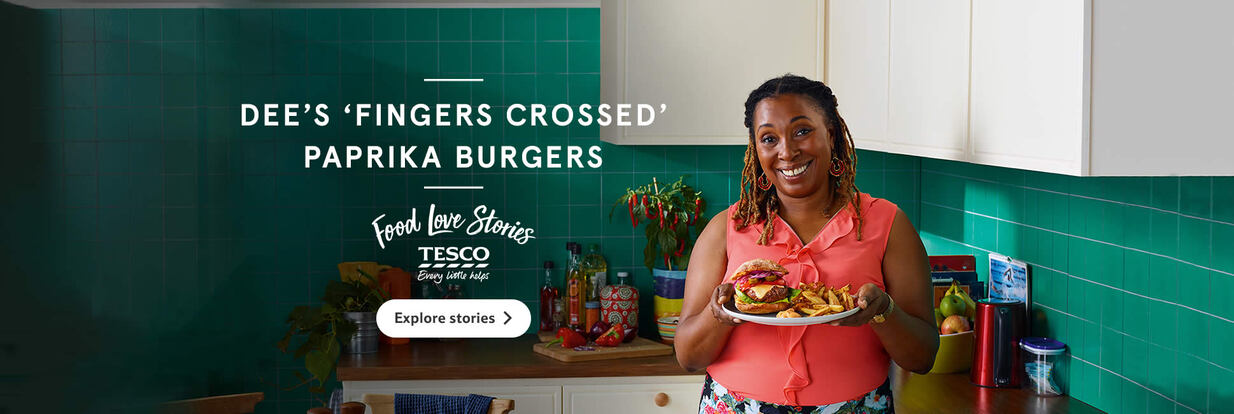 Food Love Stories: Dee's paprika burgers