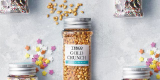 Gold crunch sprinkles